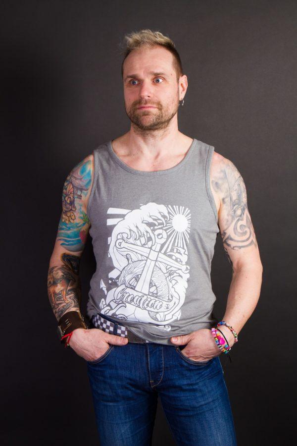 Horgony férfi trikó