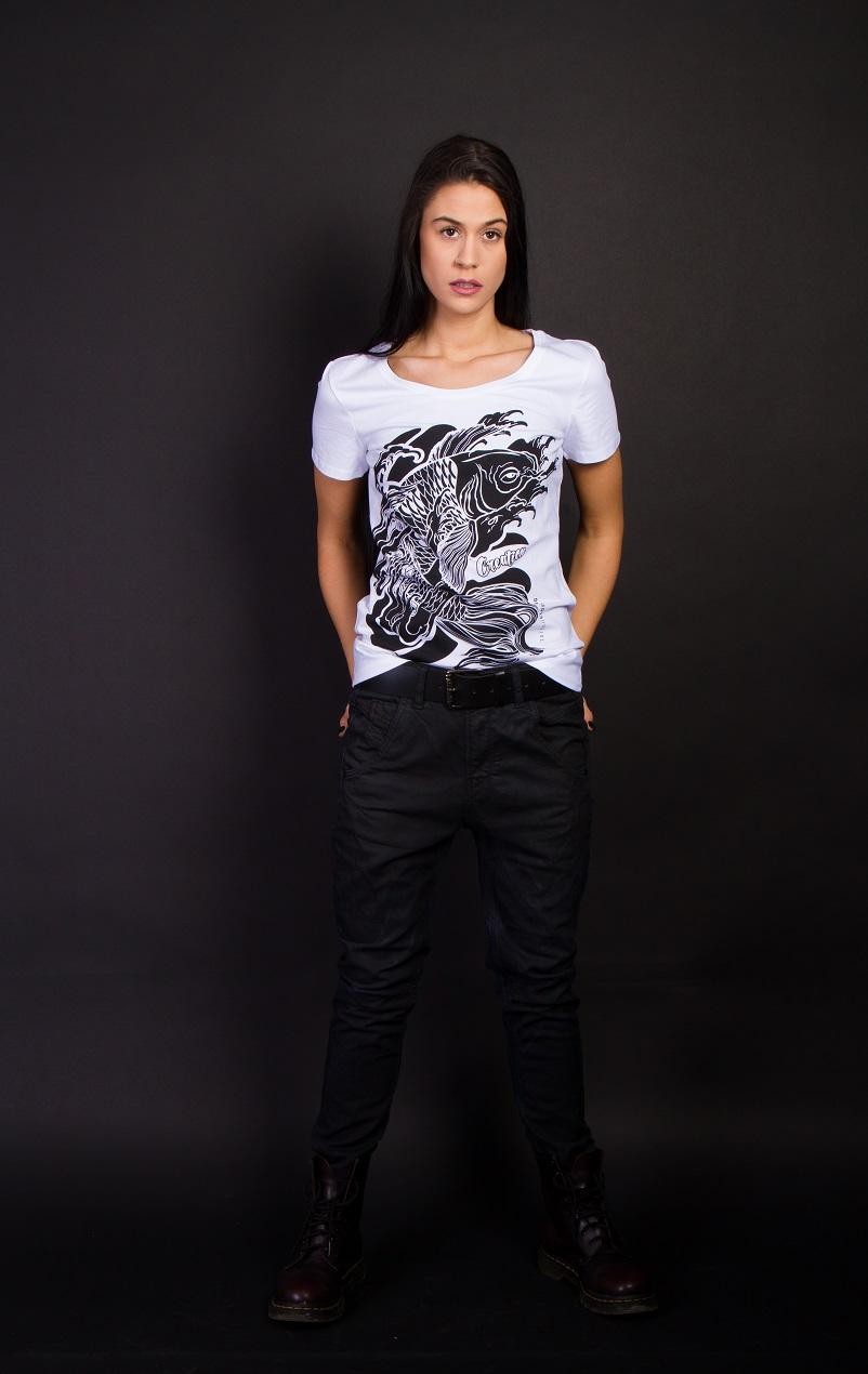 Koi Ponyt női póló
