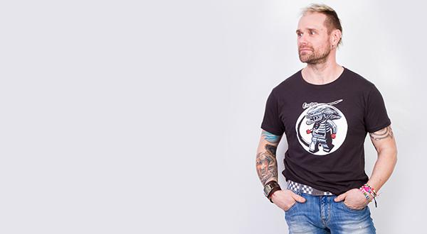 Egyedi póló - Creation Webshop férfi kollekció